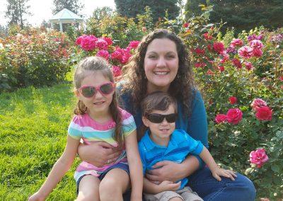 Jessica with Kids